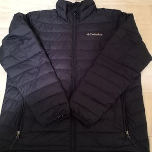 Columbia puffer jacket down therma coil tech